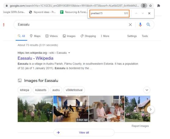 Eassalu SERP - no over length title